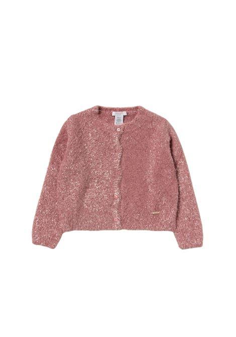 Pink Fashion Girls cardigan, LIU-JO JUNIOR | Cardigan | KF1134MA91LA4070