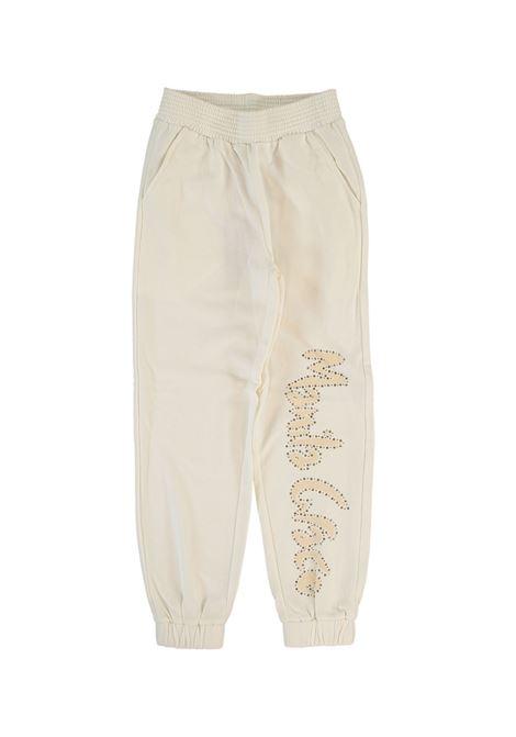 Pantalone Tuta Bambina MANILA GRACE KIDS | Pantaloni | MG1151LATTE