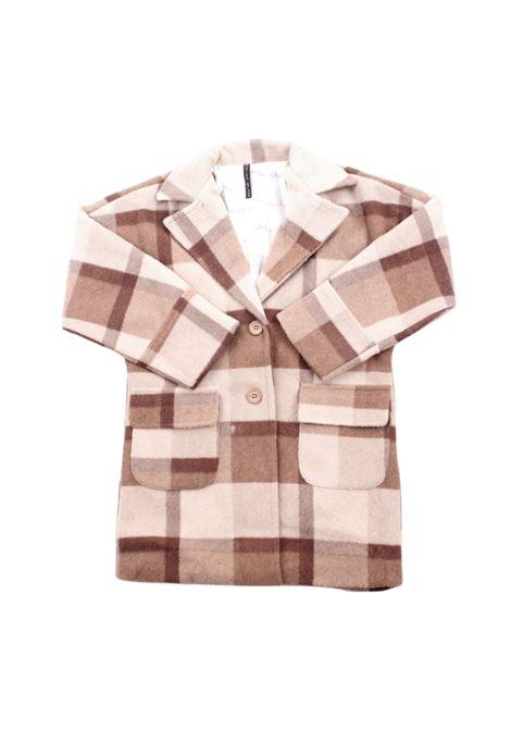 Girl's Patterned Coat MANILA GRACE KIDS | Coats | MG1152FANTASIA