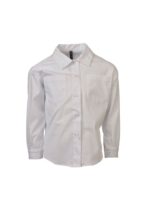 Camicia Basic Bambina MANILA GRACE KIDS   Camicie   MGB1320BIANCO