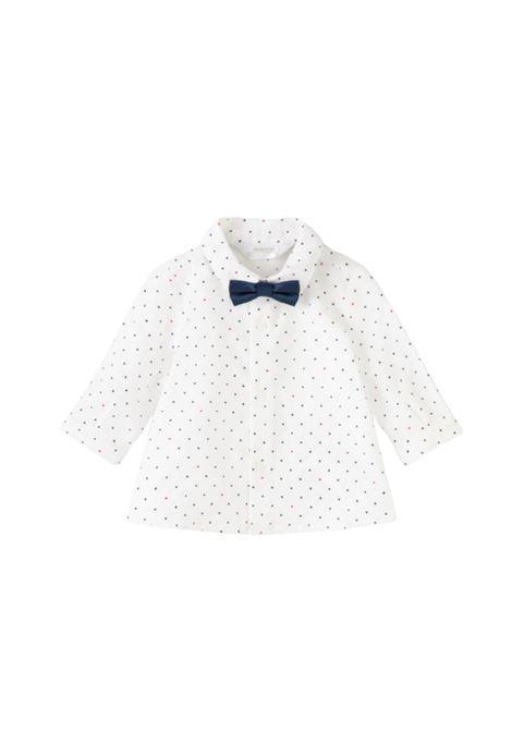 Polka dot shirt with bow tie MAYORAL NEWBORN |  | 2138025