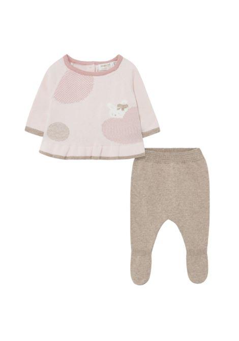 Baby girl ghettina set MAYORAL NEWBORN | Complete | 2502054