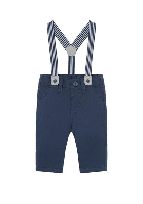 Pantalone Jersey Con Bretelle MAYORAL NEWBORN | Pantaloni | 2520030