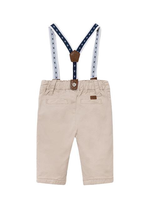 Pantalone Jersey Con Bretelle MAYORAL NEWBORN | Pantaloni | 2520031