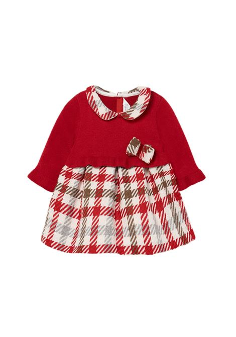 Red Tricot Dress for Girls MAYORAL NEWBORN | Clothes | 2816048