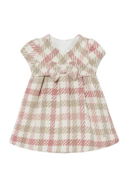 Baby Girl Checkered Dress MAYORAL NEWBORN | Clothes | 2817081