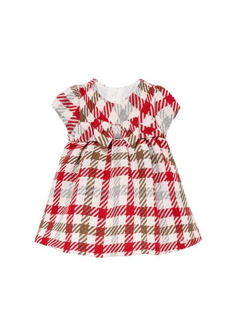 Baby Girl Checkered Dress MAYORAL NEWBORN | Clothes | 2817082