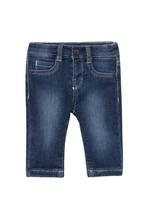 Jeans Jersey Navy MAYORAL NEWBORN | Pantaloni | 593010