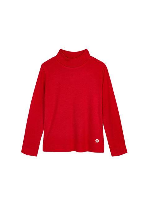 Basic Red Turtleneck for Girls MAYORAL      13685