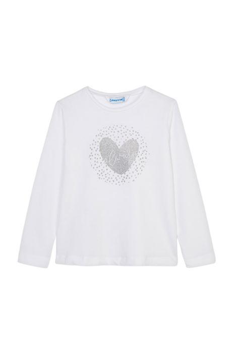 Maglia Heart Bambina MAYORAL | Maglie | 178034