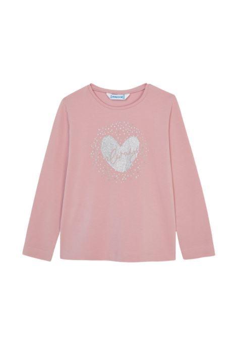 Maglia Heart Bambina MAYORAL | Maglie | 178035