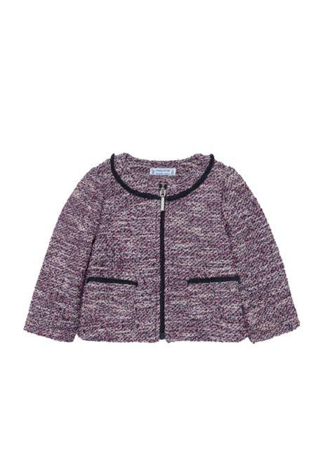 Raspberry Girl Jacket MAYORAL | Cardigan | 2429003