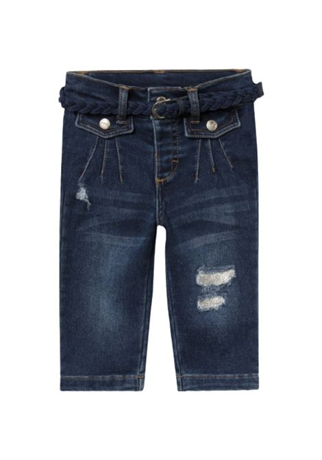 Girls Ripped Jeans MAYORAL | Trousers | 2542039