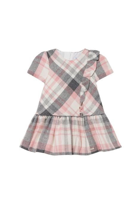 Checked and Rouche dress MAYORAL | Clothes | 2906037