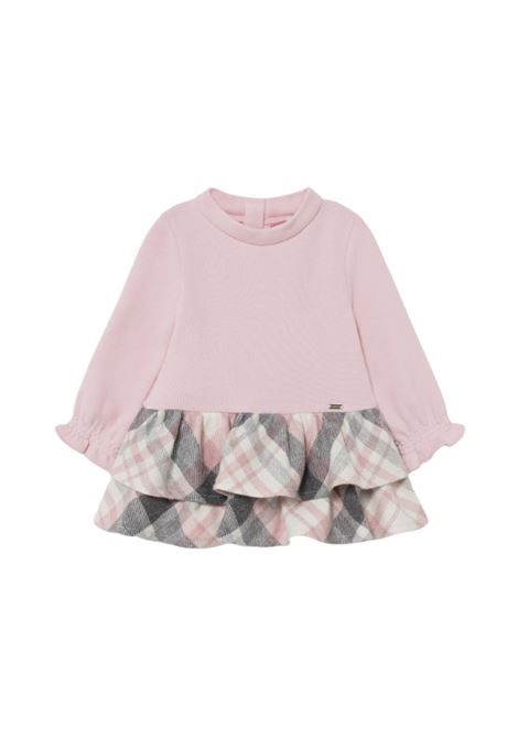 Rouche Dress for Girls MAYORAL | Clothes | 2908042