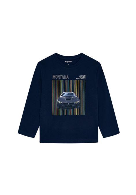 Maglia Blue Bambino MAYORAL | Maglie | 4081010