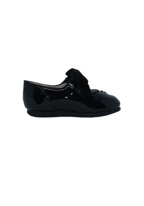 Girl's Ballerina in Patent Leather with Bow MAYORAL | Dancers | 42216057