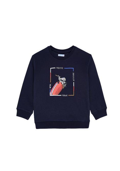 Navy Boy sweatshirt MAYORAL | Hoodie | 4406072