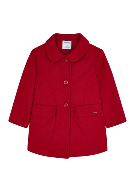 Red Coat for Girls MAYORAL | Coats | 4434024
