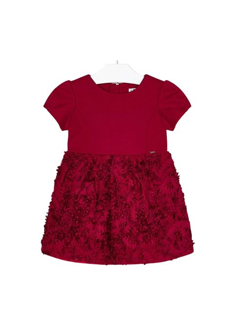 Balloon Sleeves Dress for Girls MAYORAL   Clothes   492022