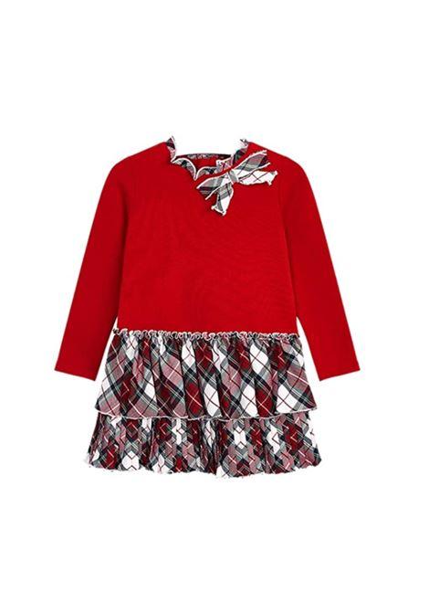 Vestito Fiocco Scozzese Bambina, MAYORAL   Vestiti   497865