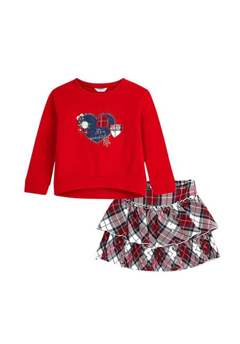 Love Red Girl outfit MAYORAL   Complete   499265