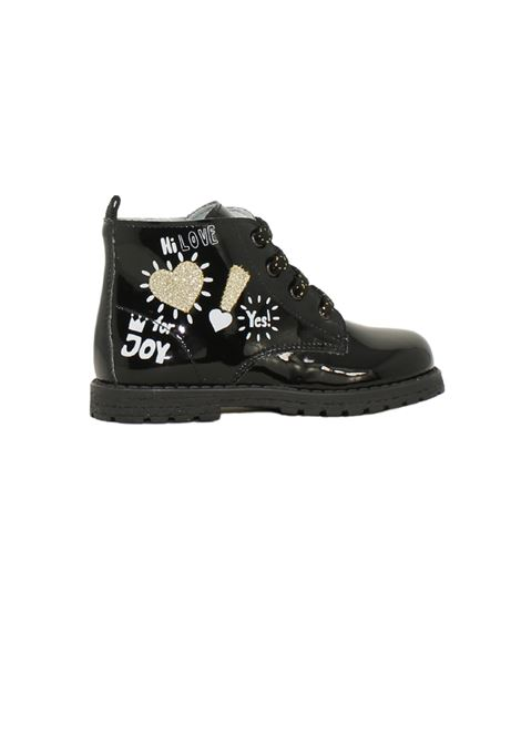 Glitter boots for girls NERO GIARDINI JUNIOR | Amphibians | 122072F100