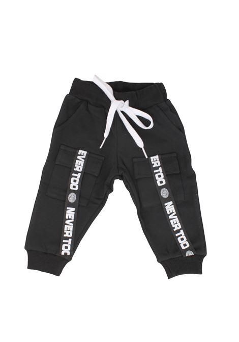 Pantalone Black White Bambino NEVER TOO | Pantaloni | NT1155NNERO