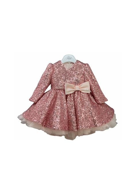 Sequined Dress with Bow for Girls PETIT | Clothes | 2015025T668983