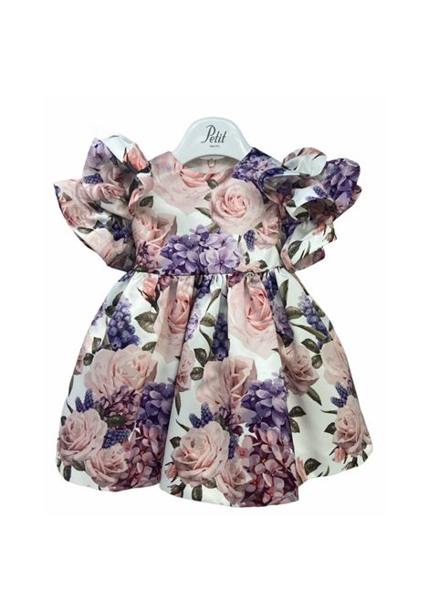 Floral Dress with Rouche for Girl, PETIT | Clothes | 2015099T675083