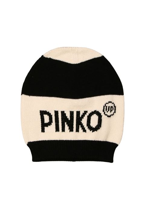 Lurex Hat for Girls PINKO UP | Shirt | 025678NERO