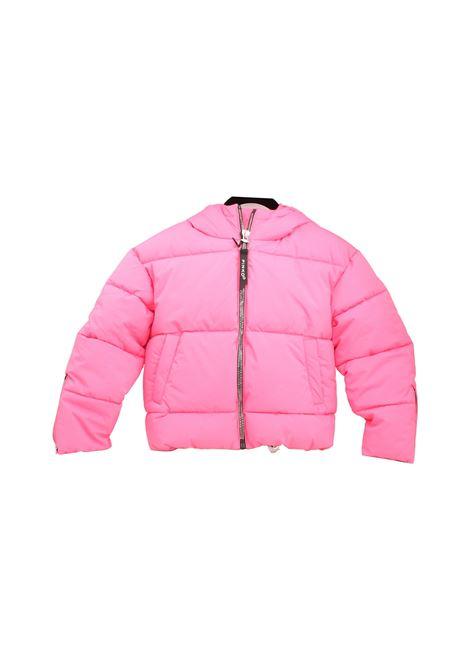 Nylon Bomber Jacket for Girls PINKO UP   Jackets   028237044
