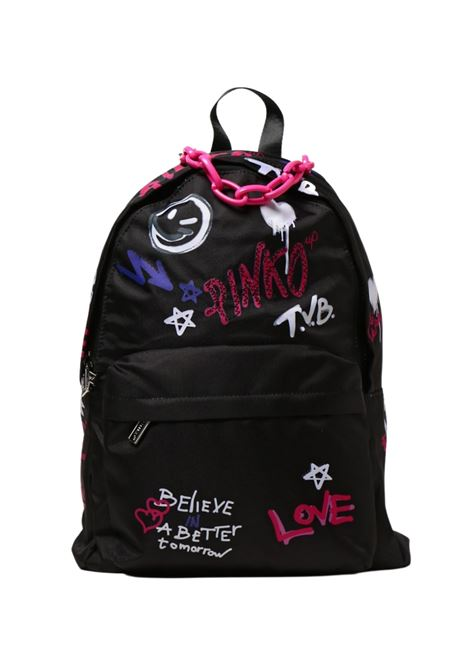 Nylon Love Backpack for Girls PINKO UP | Backpacks | 028244110