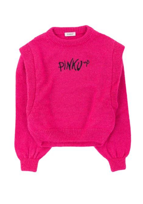 Girl's Rouche Sweater PINKO UP      028357044