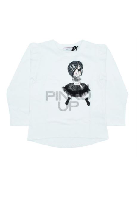 Girl's Tulle T-shirt PINKO UP | T-shirt | 028727002