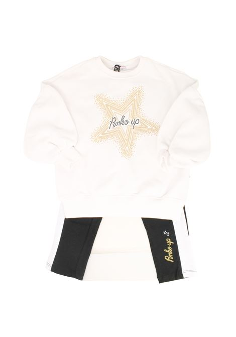 Stars Black White Girls outfit PINKO UP   Complete   029002002/13