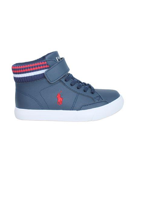 High Child Shoe POLO RALPH LAUREN JUNIOR | Sneakers | 13RF103224BLU