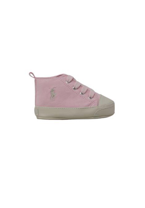 Sneakers Camoscio Neonata POLO RALPH LAUREN JUNIOR | Sneakers | 13RL100614ROSA