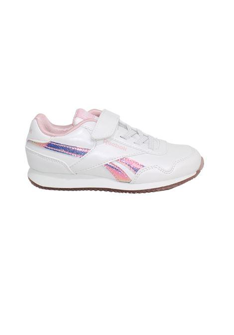 Lurex Pink Sneakers for Girls REEBOK | Sneakers | FY4817WHITE PINK