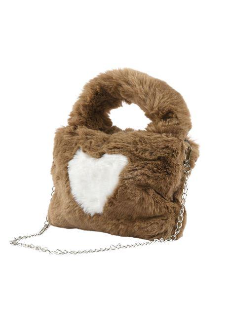 Heart Girl Eco-Fur Bag SARABANDA | bags | 01526001117