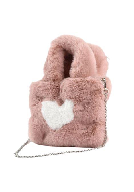 Heart Girl Eco-Fur Bag SARABANDA | bags | 01526003031