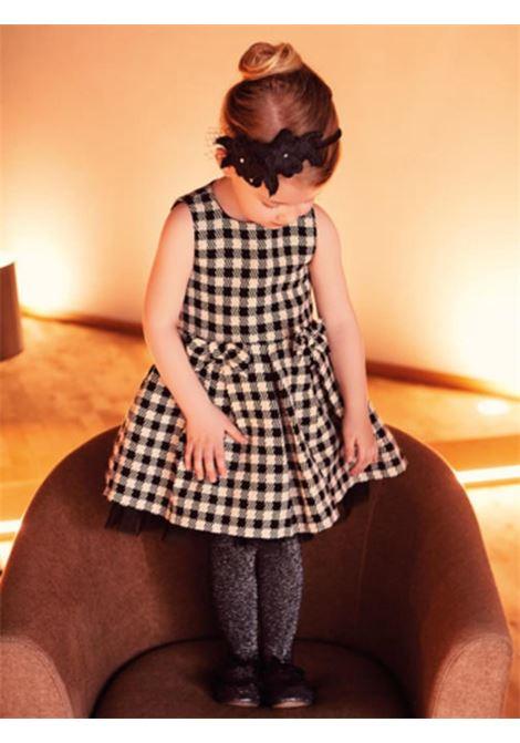 Little Girl Checkered Dress SARABANDA | Clothes | 0V23100LV07