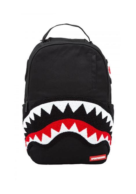 Ghost Chenille Shark Backpack SPRAYGROUND KIDS | Backpacks | 910B1228NSZNERO