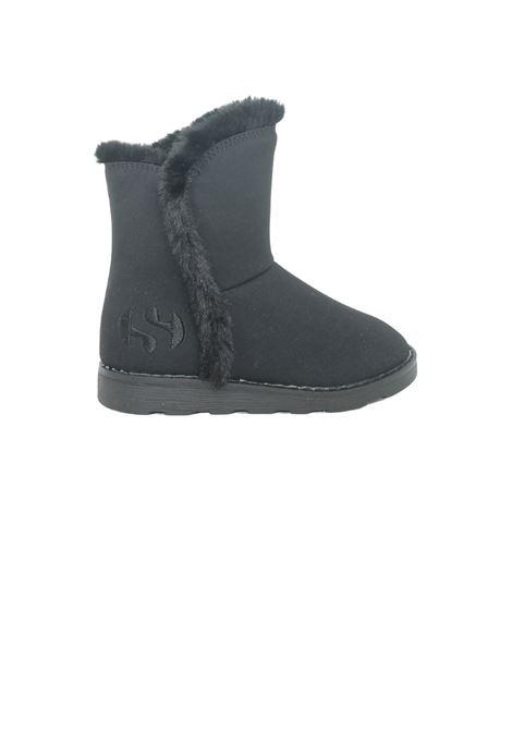 Girl's Faux Fur Boots SUPERGA KIDS | Boots | S8111KWA0Z NERO