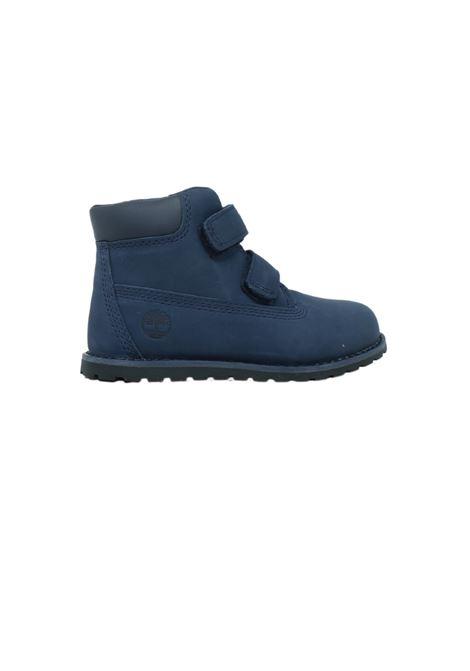 Baby Blue Combat Boots TIMBERLAND KIDS | Amphibians | TB0A2H1M0191BLU