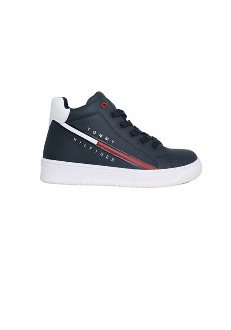 Sneakers Alta Blu/White Bambino TOMMY HILFIGER KIDS | Sneakers | T3B4320541287X007BLU