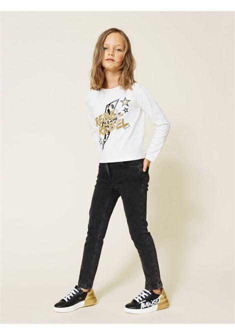Pantalone Skinny Bambina TWINSET KIDS | Pantaloni | 212GJ250B00006