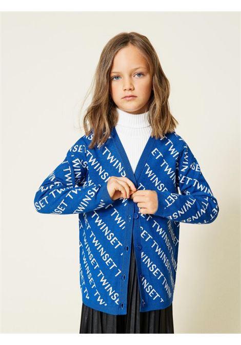 Jacquard cardigan for girls TWINSET KIDS | Cardigan | 212GJ331B06408