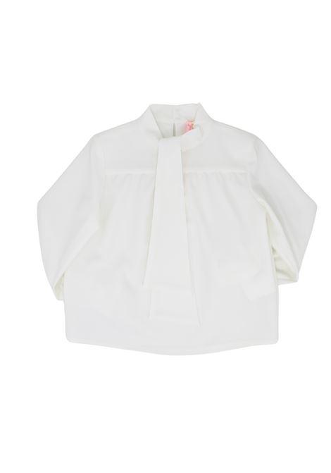 Camicia con Fiocco Bambina VICOLO KIDS   Camicie   3141C0604PANNA