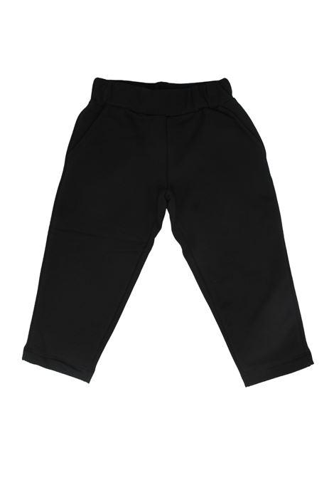 Pantalone Felpato Bambina VICOLO KIDS | Pantaloni | 3141PF0795NERO